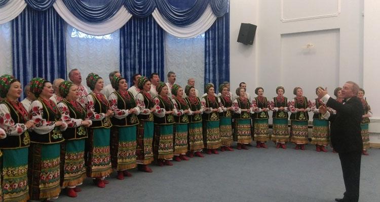 Заслуженный народный ансамбль песни танца Украины